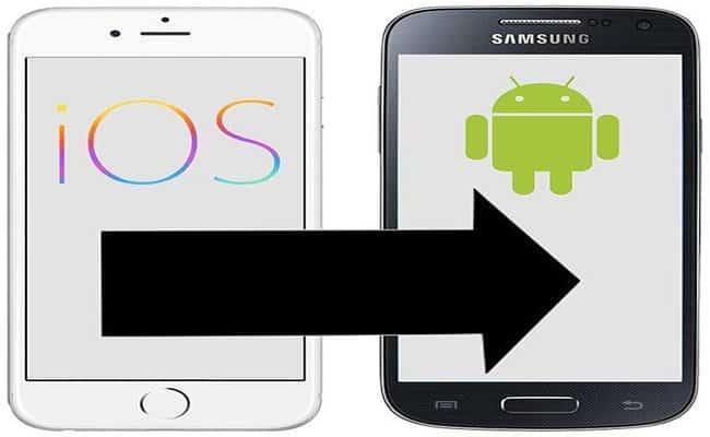 Exportar contactos de iPhone a Android